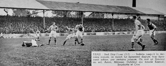 Red Star - Fives Lille, 1937