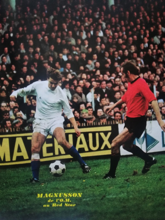 Roger Magnusson (1974-1976) – document Miroir du Football